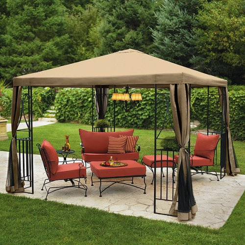 10x10 deck canopy