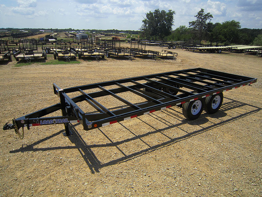 16 ft deck over trailer