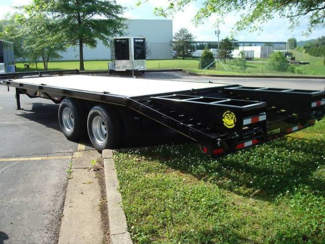 20 ft deck over trailer