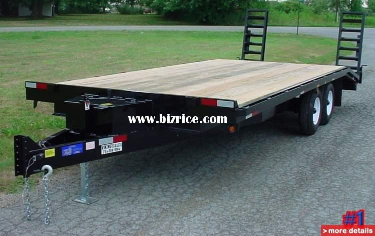 20 ft deck over trailer for sale