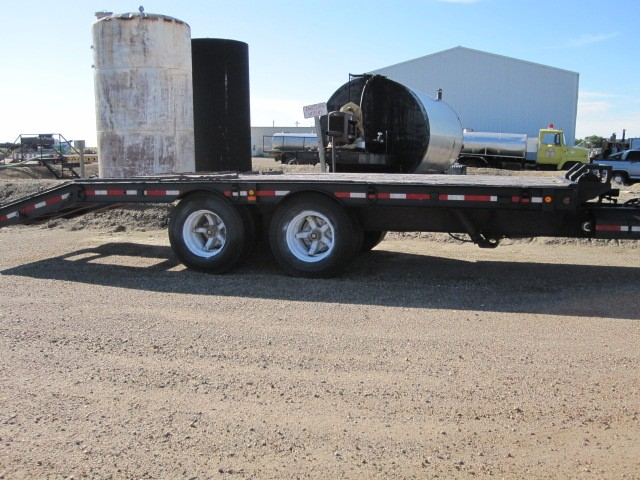 24 foot deck over trailer