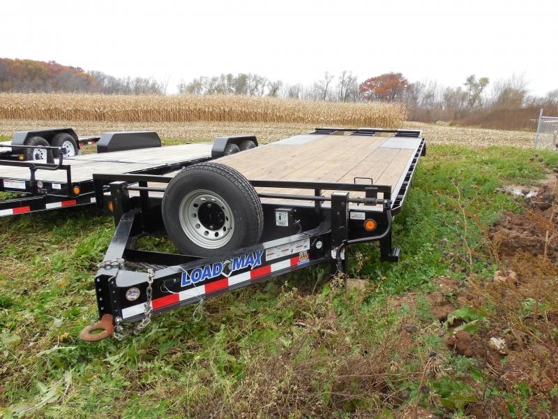 25 ft deck over trailer