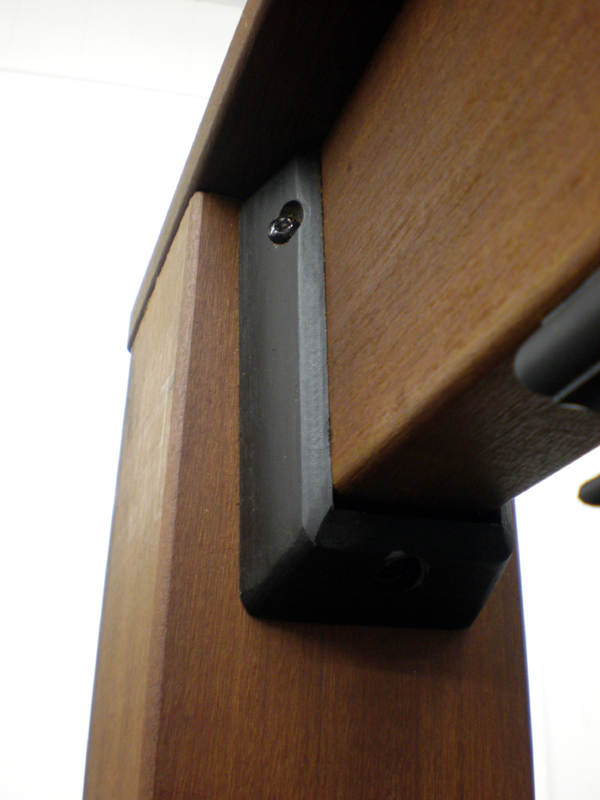 2×4 deck post tie