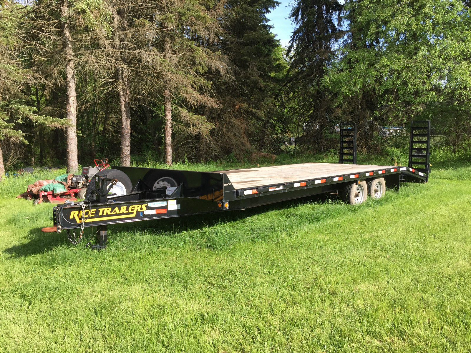 5 ton deck over trailer