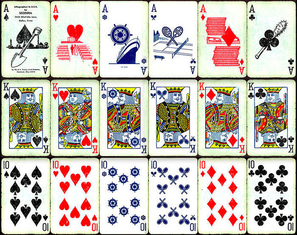 6 suit deck of cards