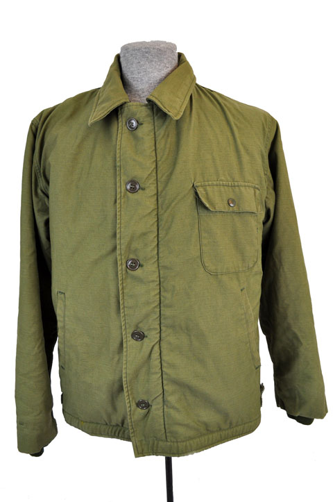 A-2 deck jacket us navy