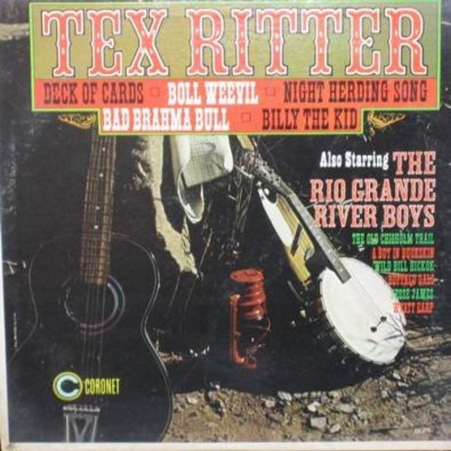 A deck of cards tex ritter