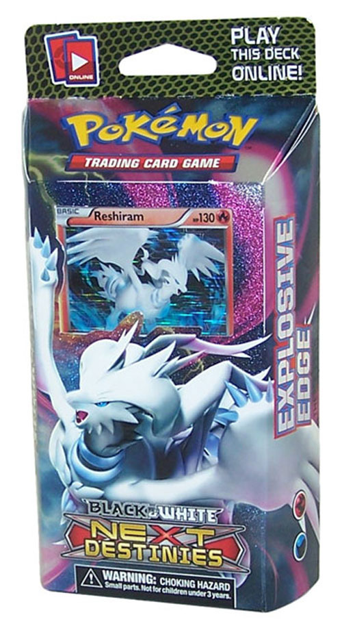 A deck of pokemon cards