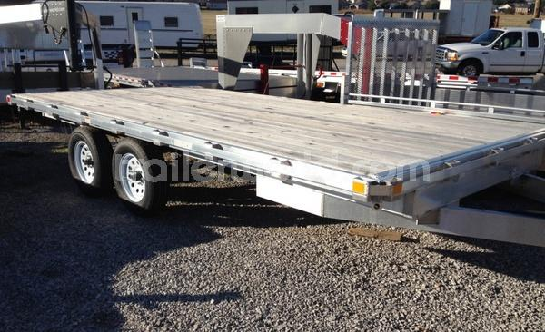 Aluminum deck over trailer for sale