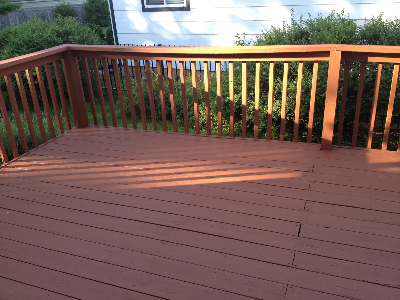 Behr deck over pictures