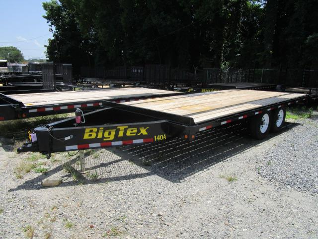 Big tex deck over trailer