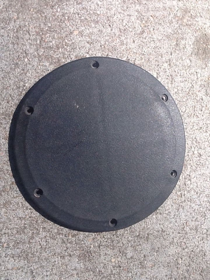 Boat deck plate covers