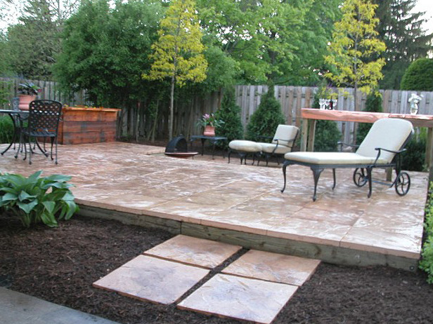 Build a deck or patio