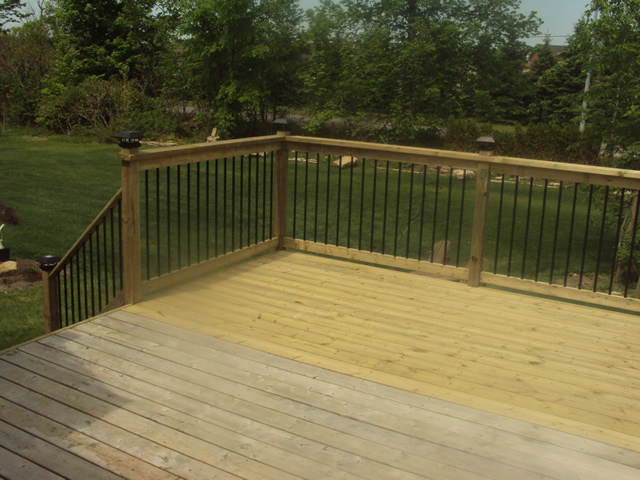 Build deck extension