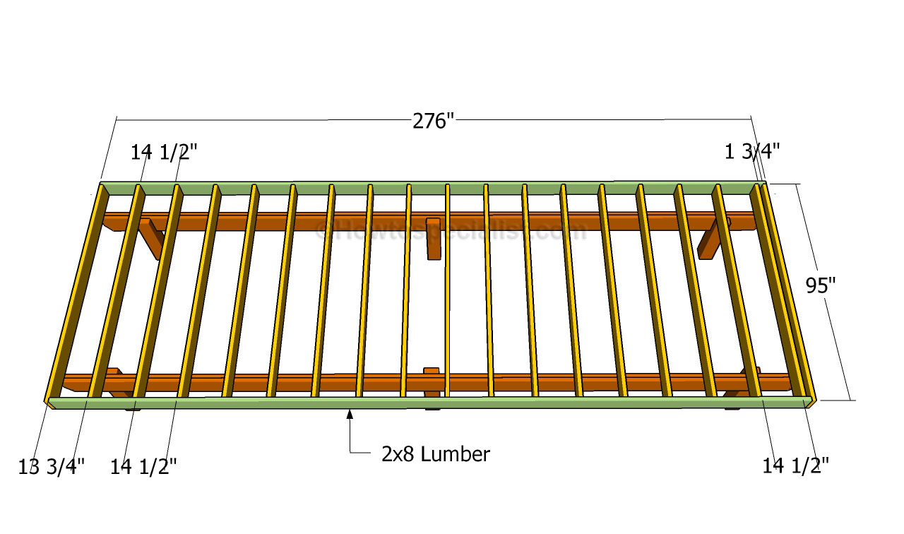Building a deck framing