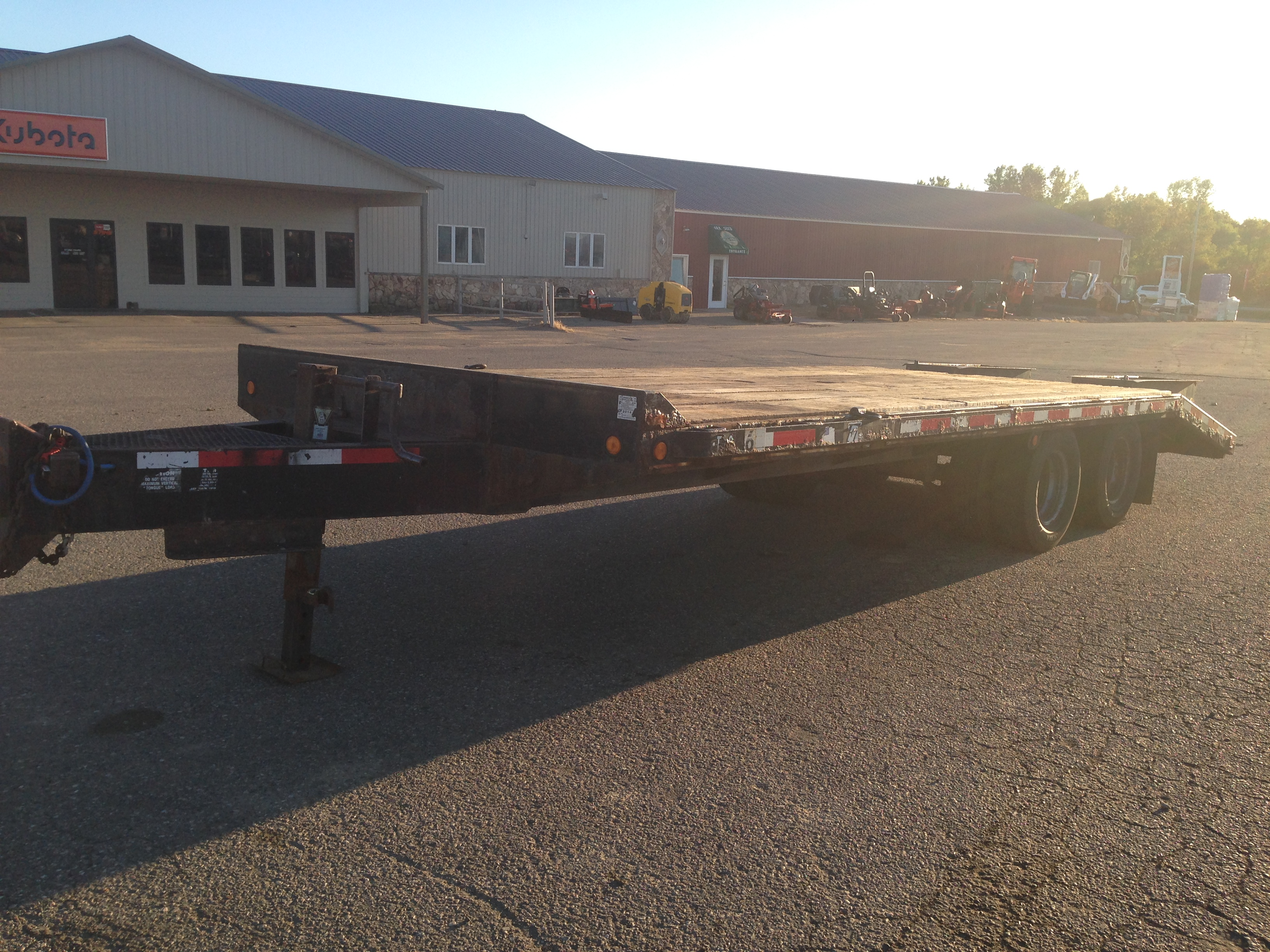 Buy used deck over trailer
