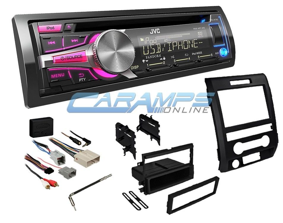 Cd deck installation kits