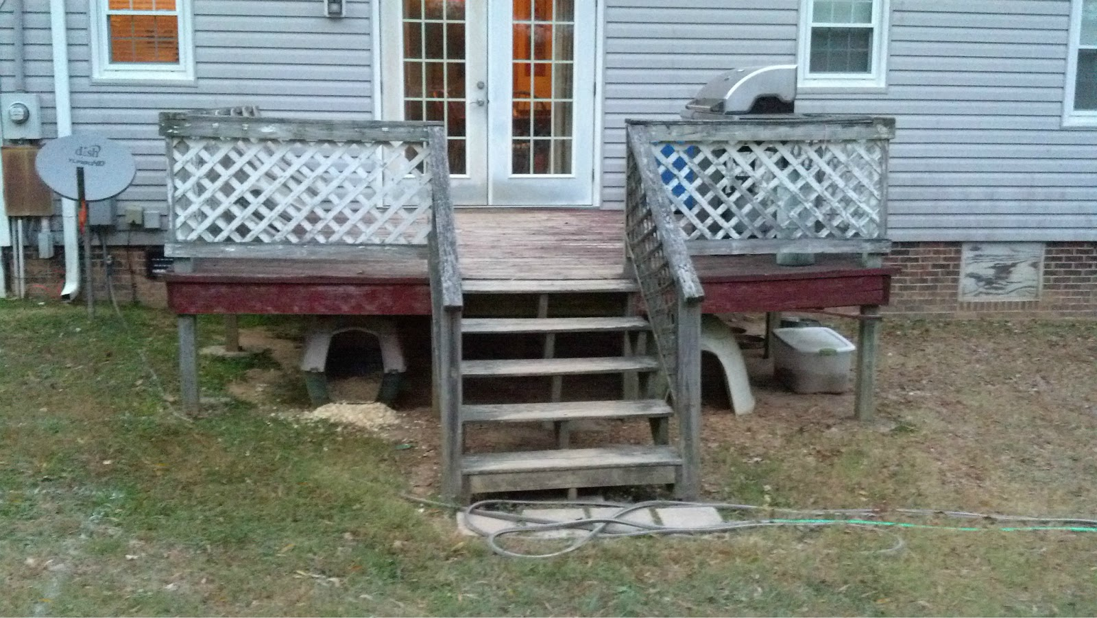 Closing in a deck pictures