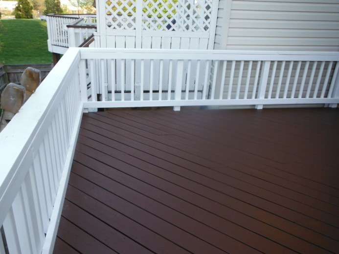 Colors of deck stain