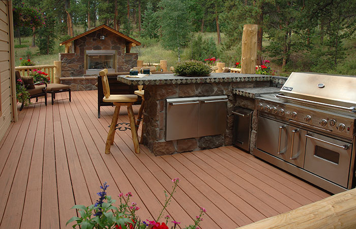 Composite deck accessories