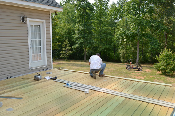 Cost of deck wood