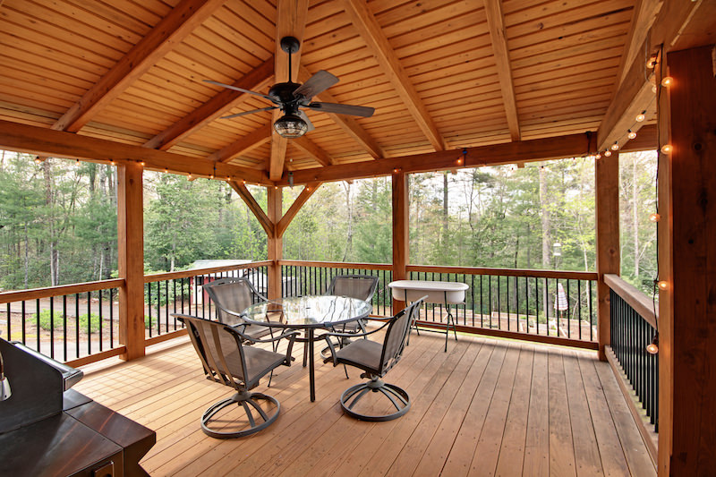 cover your deck under deck ground cover patio deck cover ideas