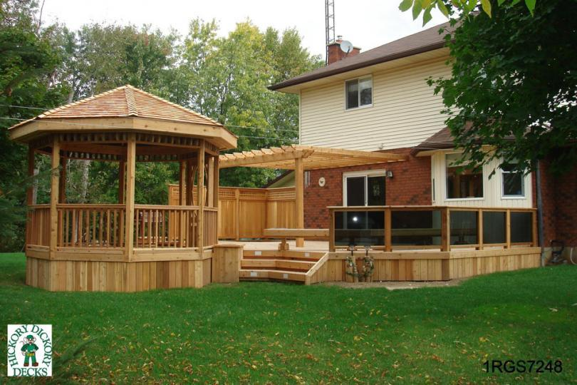 Deck and gazebo plans