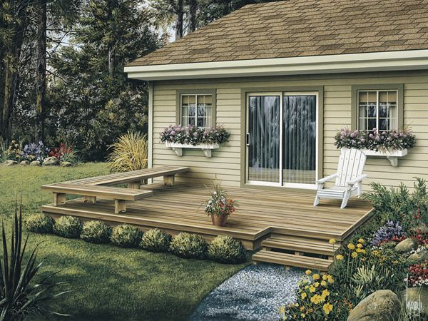 Deck and patio accessories