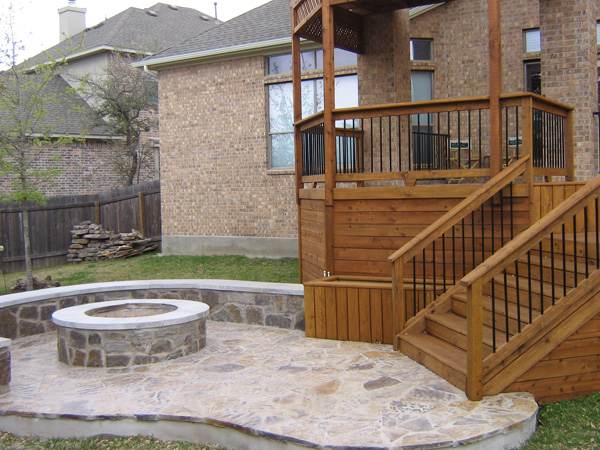 Deck and patio builders