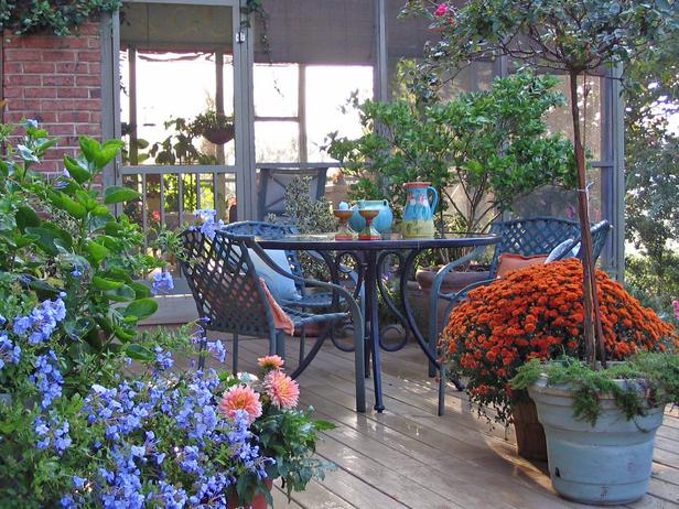 Deck and patio decor