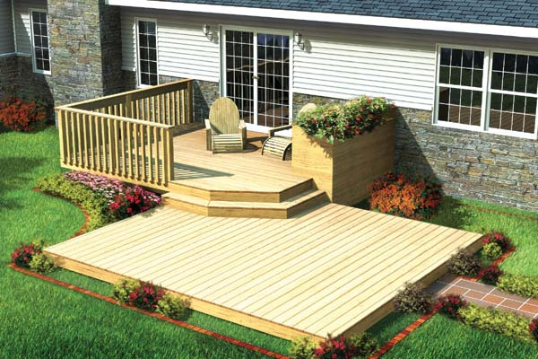Deck and patio designs pictures