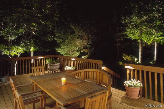 Deck and patio lighting ideas