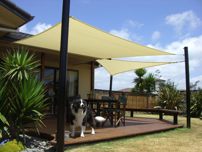 Deck and patio shade ideas
