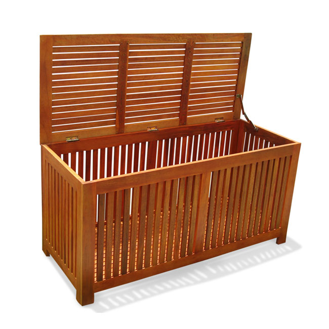 Deck and patio storage
