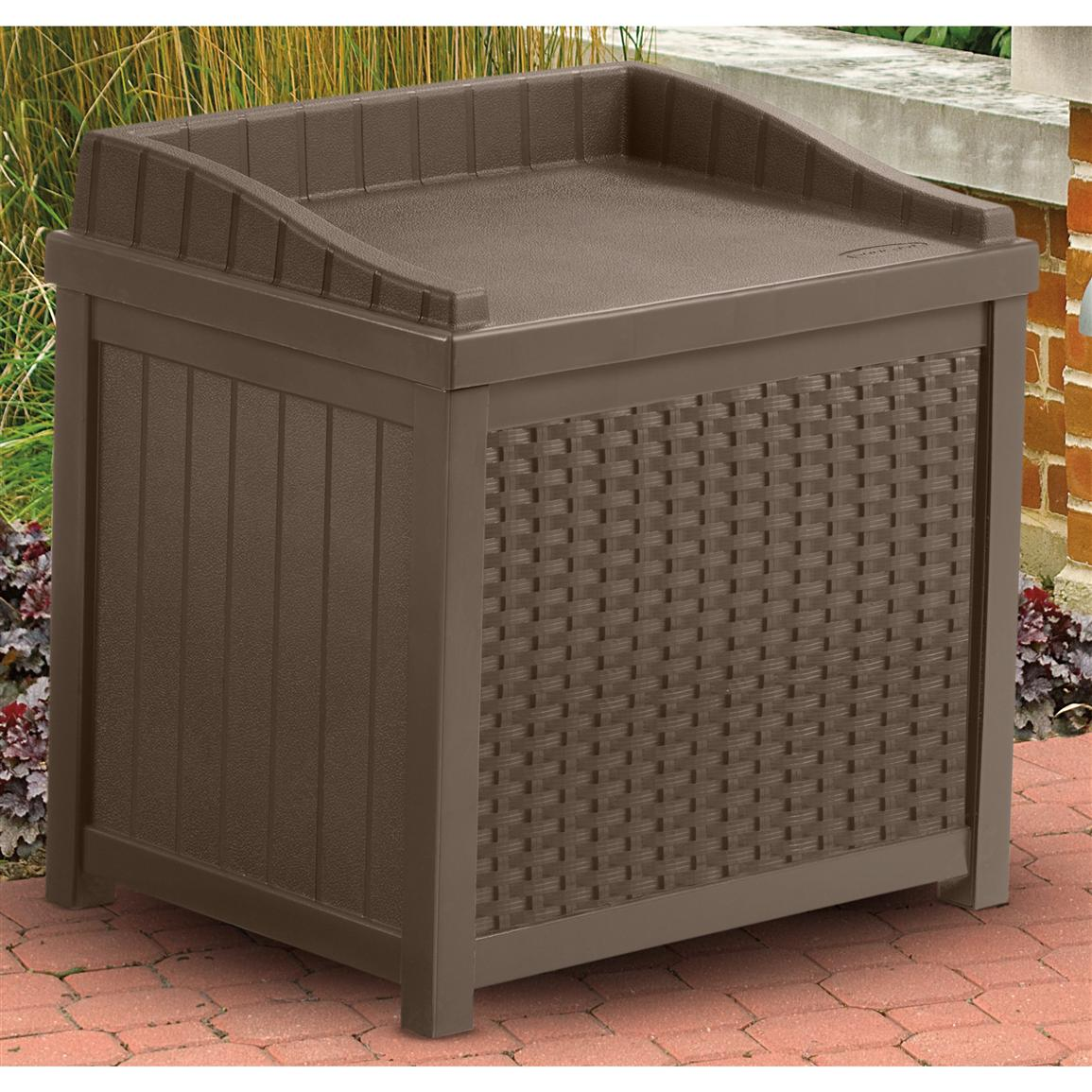 Deck and patio storage box