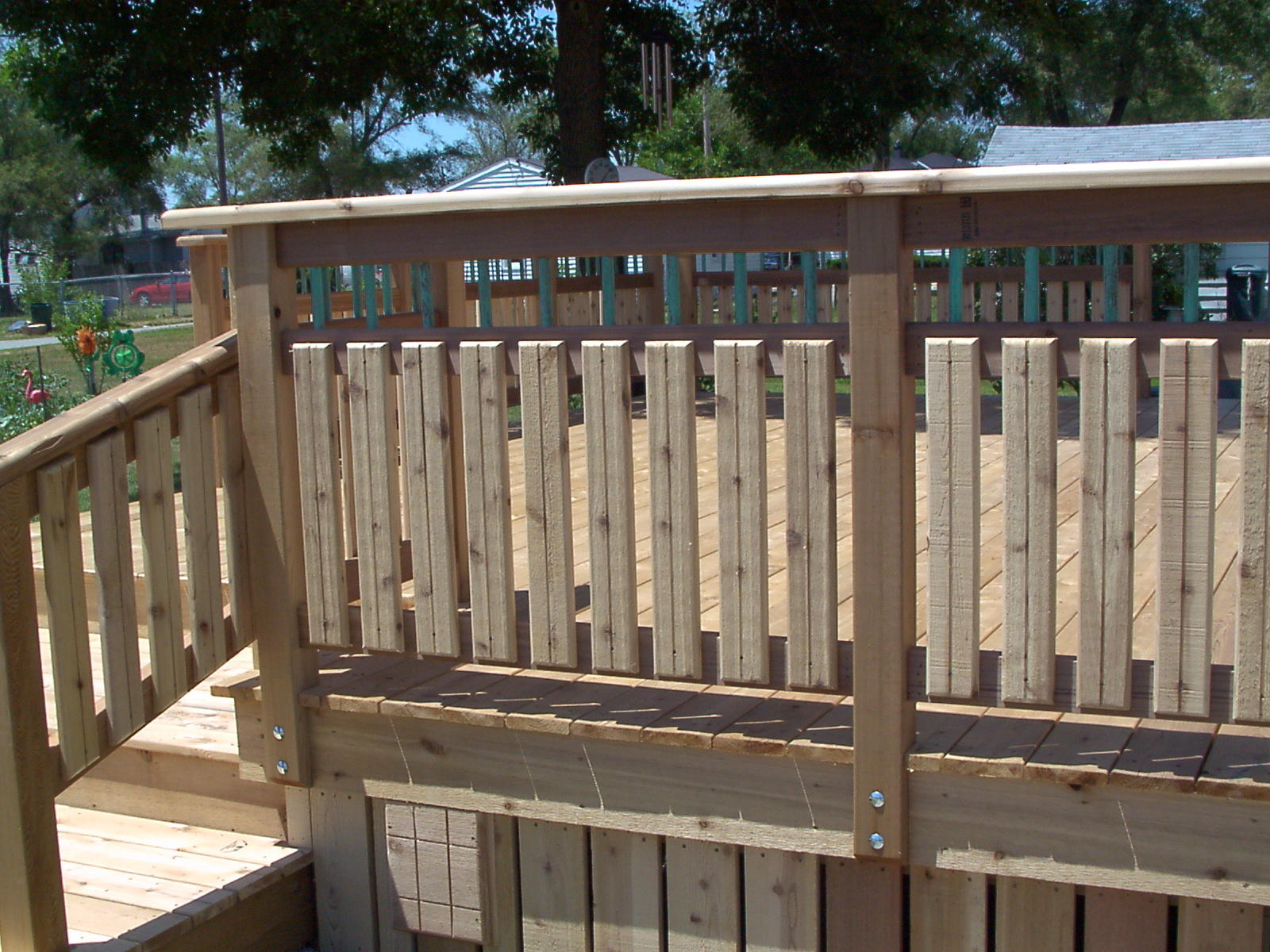 Metal deck balusters for sale deck design and ideas deck balusters home depot deck balusters ideas baanklon Image collections