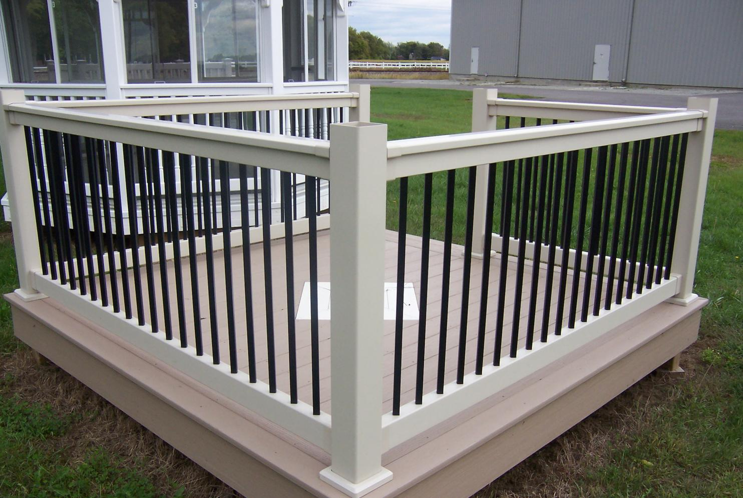 Aluminum deck balusters discount deck design and ideas deck spindles rona deck balusters and railings baanklon Choice Image