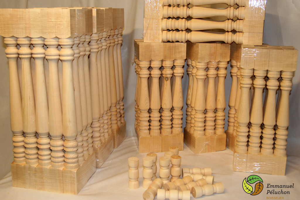 Deck balusters wood