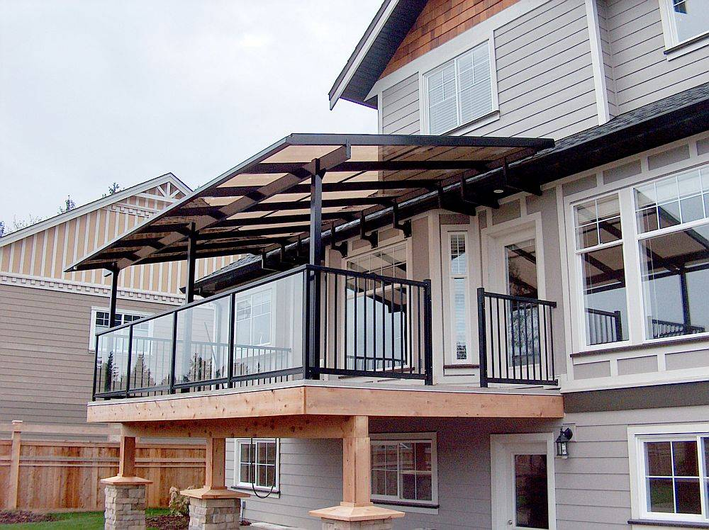 Deck canopy covers