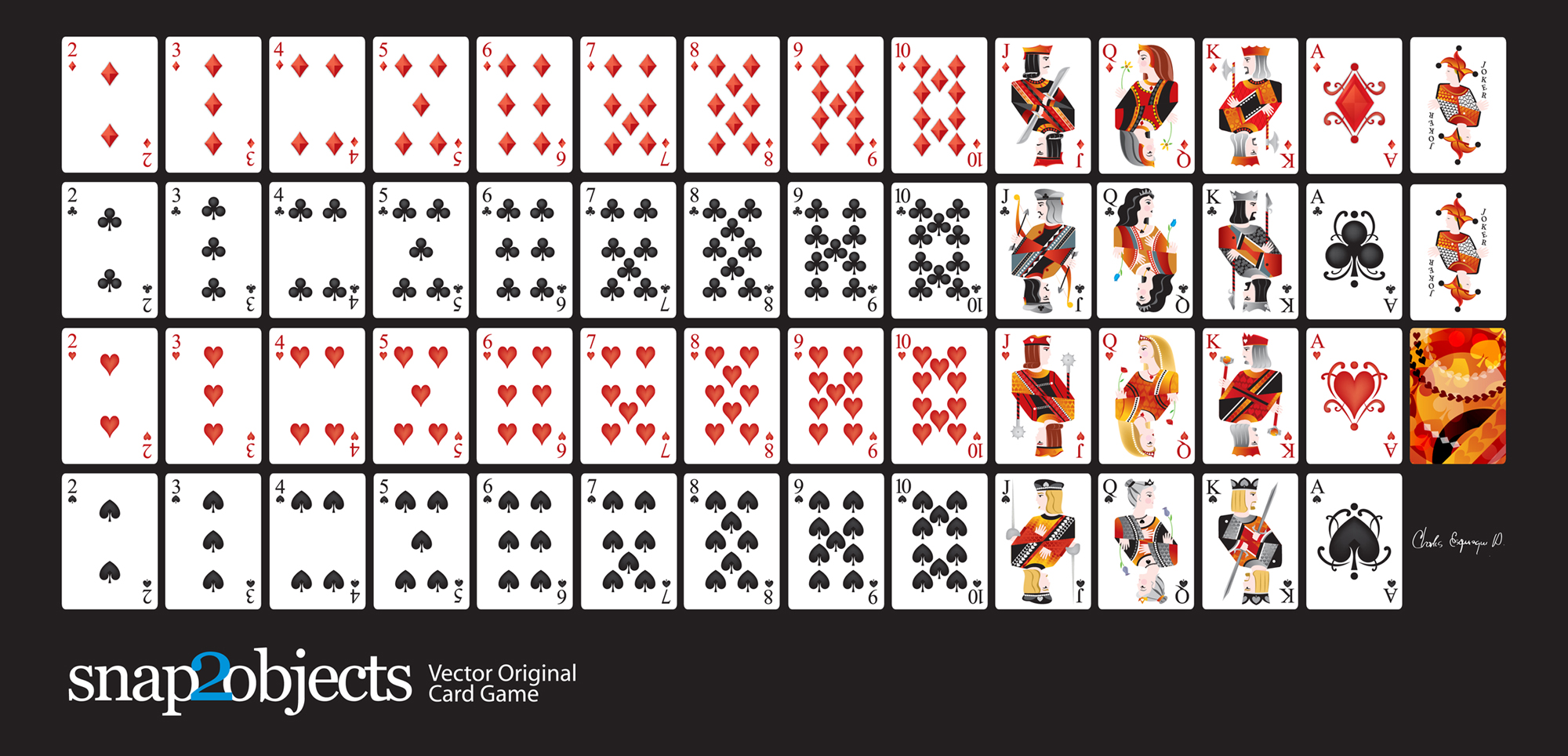 Deck cards images