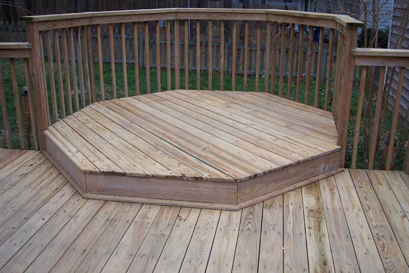 Deck clean up
