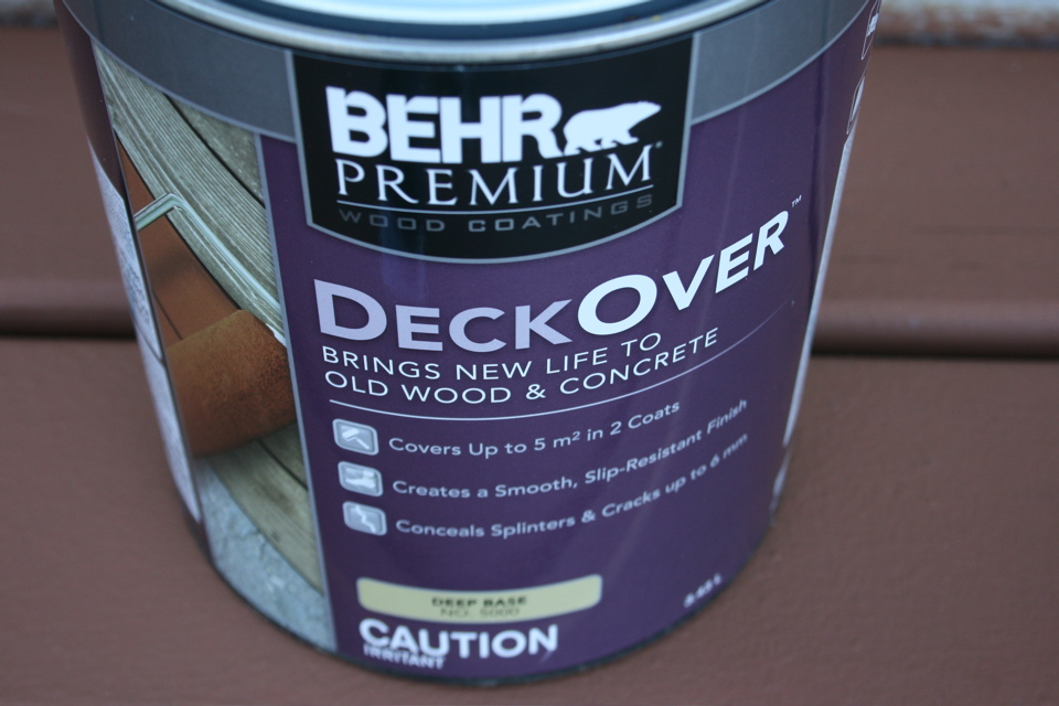 Deck coating behr