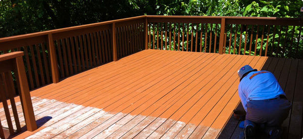 Deck colors for green house