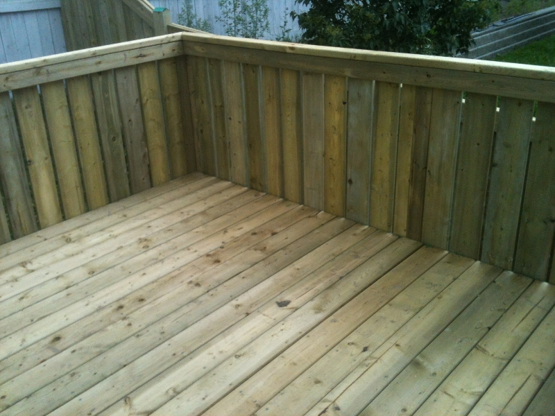 Deck construction edmonton