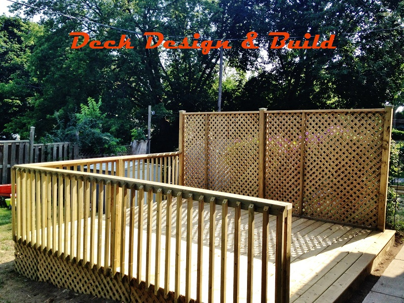 Deck construction ontario