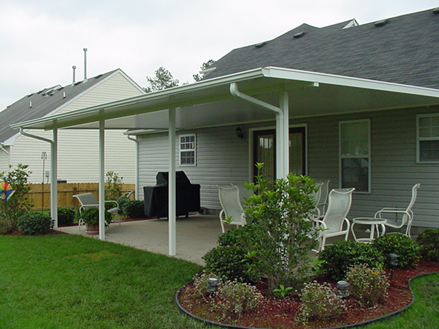 Deck cover awning