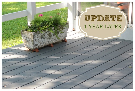 Deck cover behr