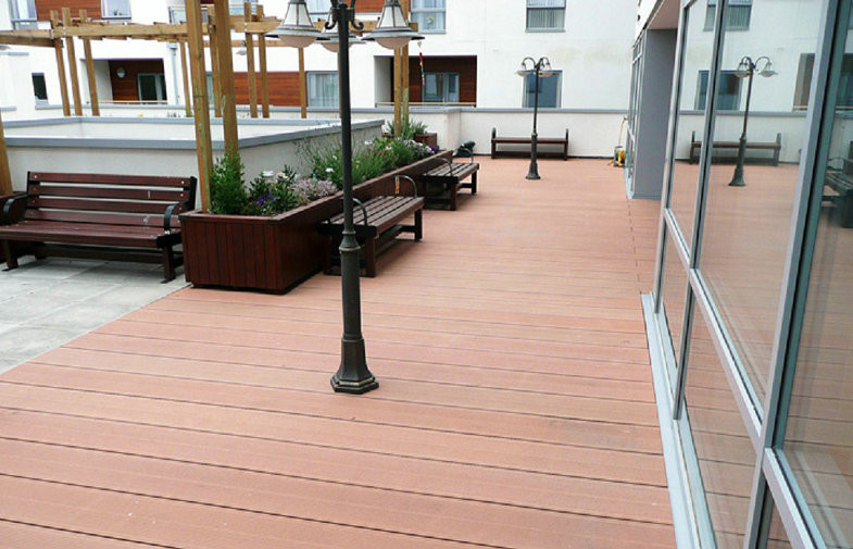 Deck cover plastic
