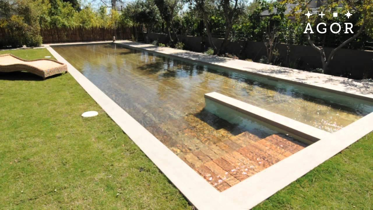 Deck cover pool