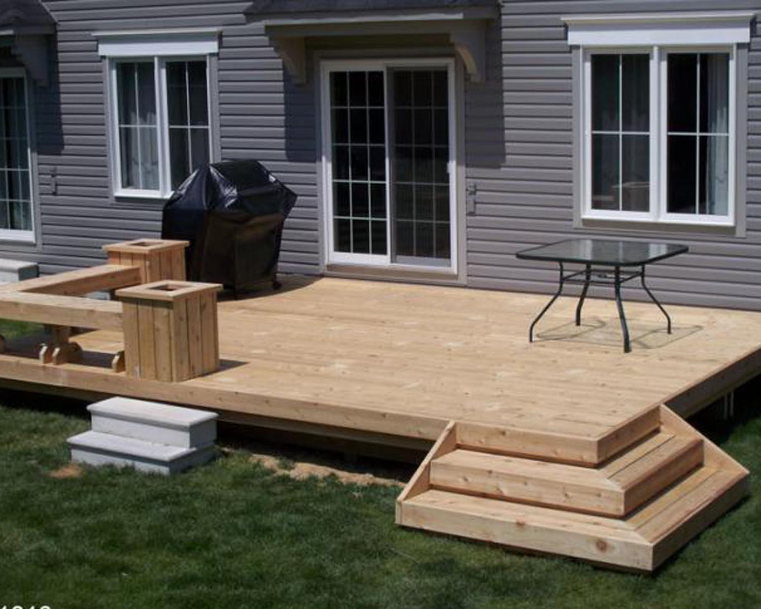 Deck designs ideas pictures